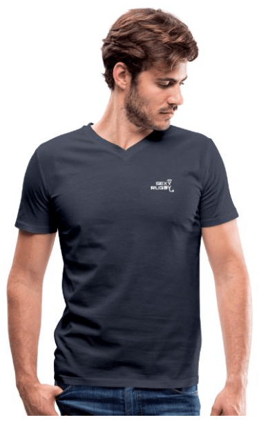 T-shirt rugby pour hommes